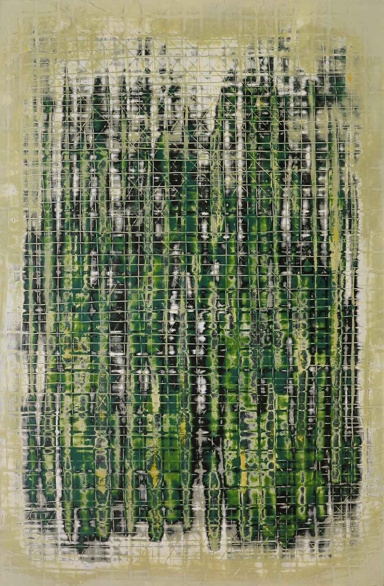 Tuval üzeri akrilik – Acrylic on canvas 60*90 cm