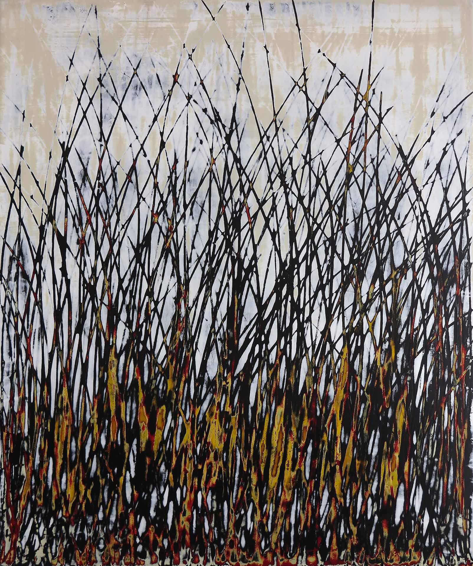 Tuval üzeri akrilik – Acrylic on canvas 69*57 cm