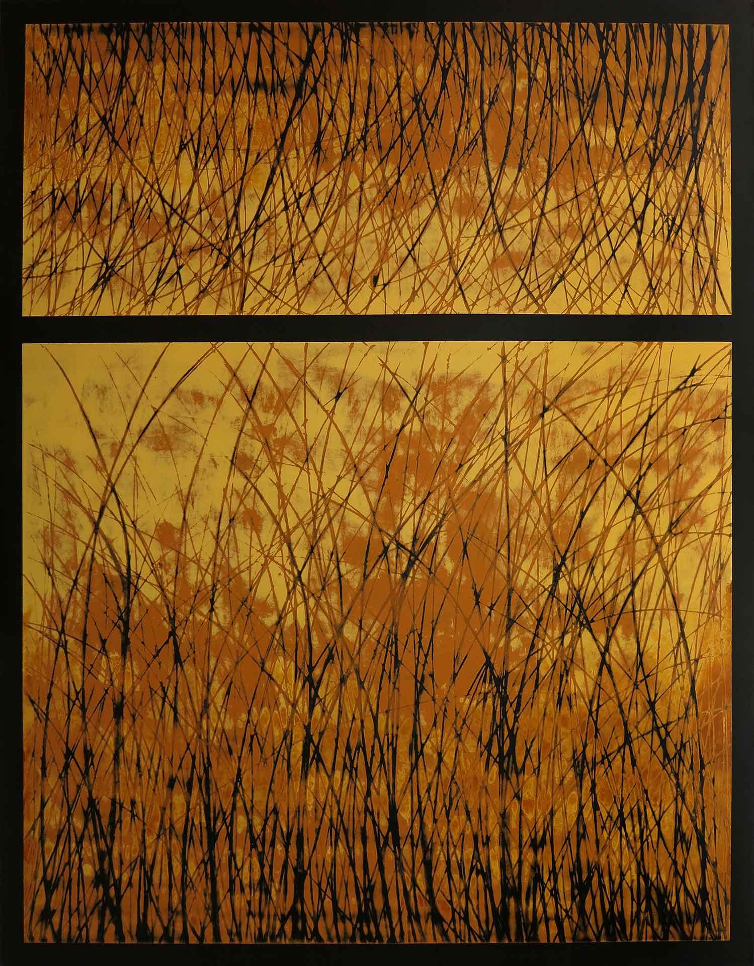 Tuval üzeri akrilik – Acrylic on canvas 140*110 cm