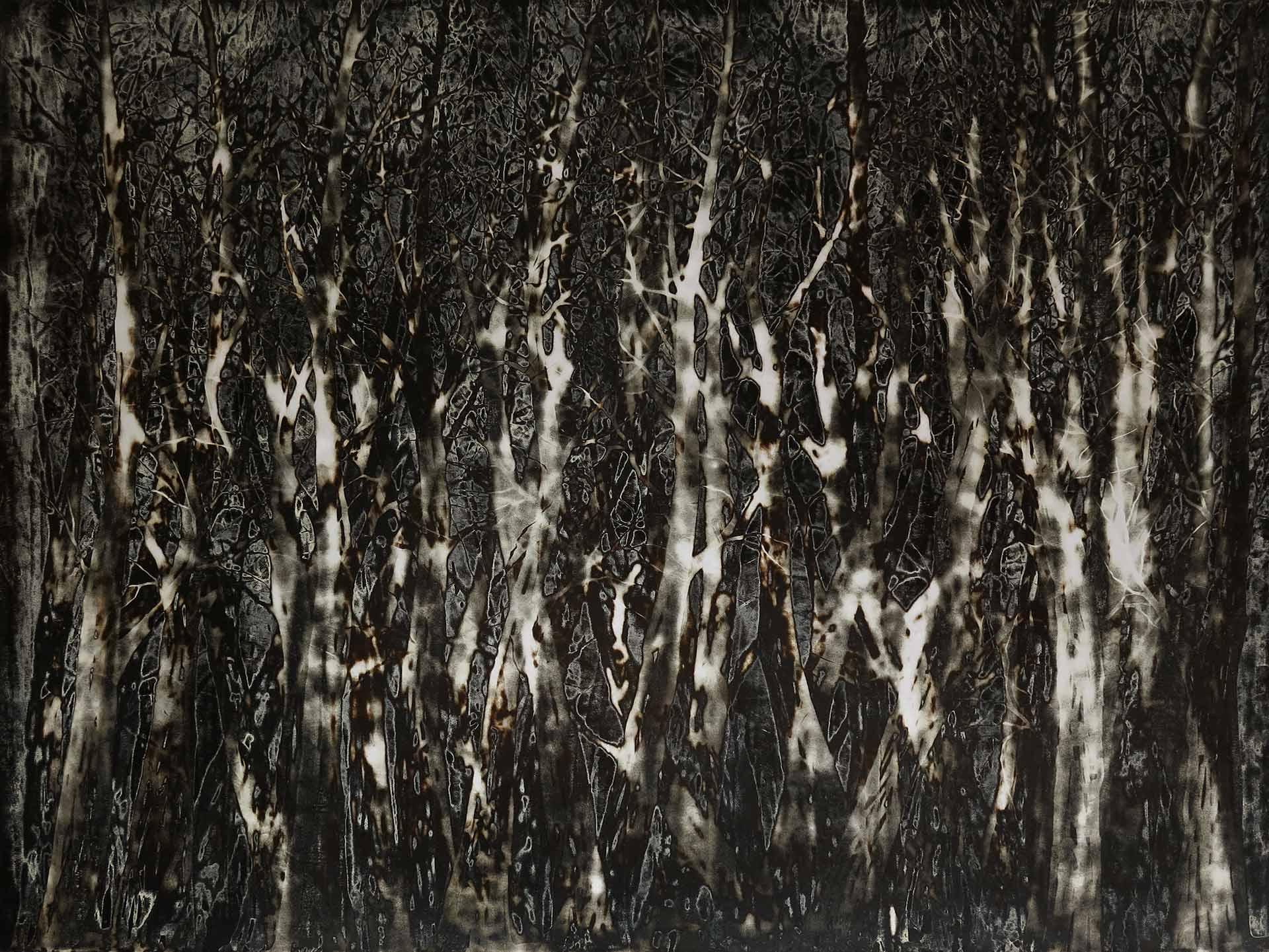 Tuval üzeri akrilik – Acrylic on canvas 170*130 cm