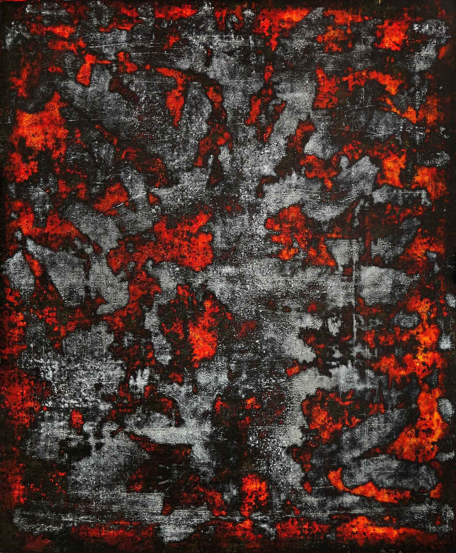 Tuval üzeri akrilik – Acrylic on canvas 120*100 cm