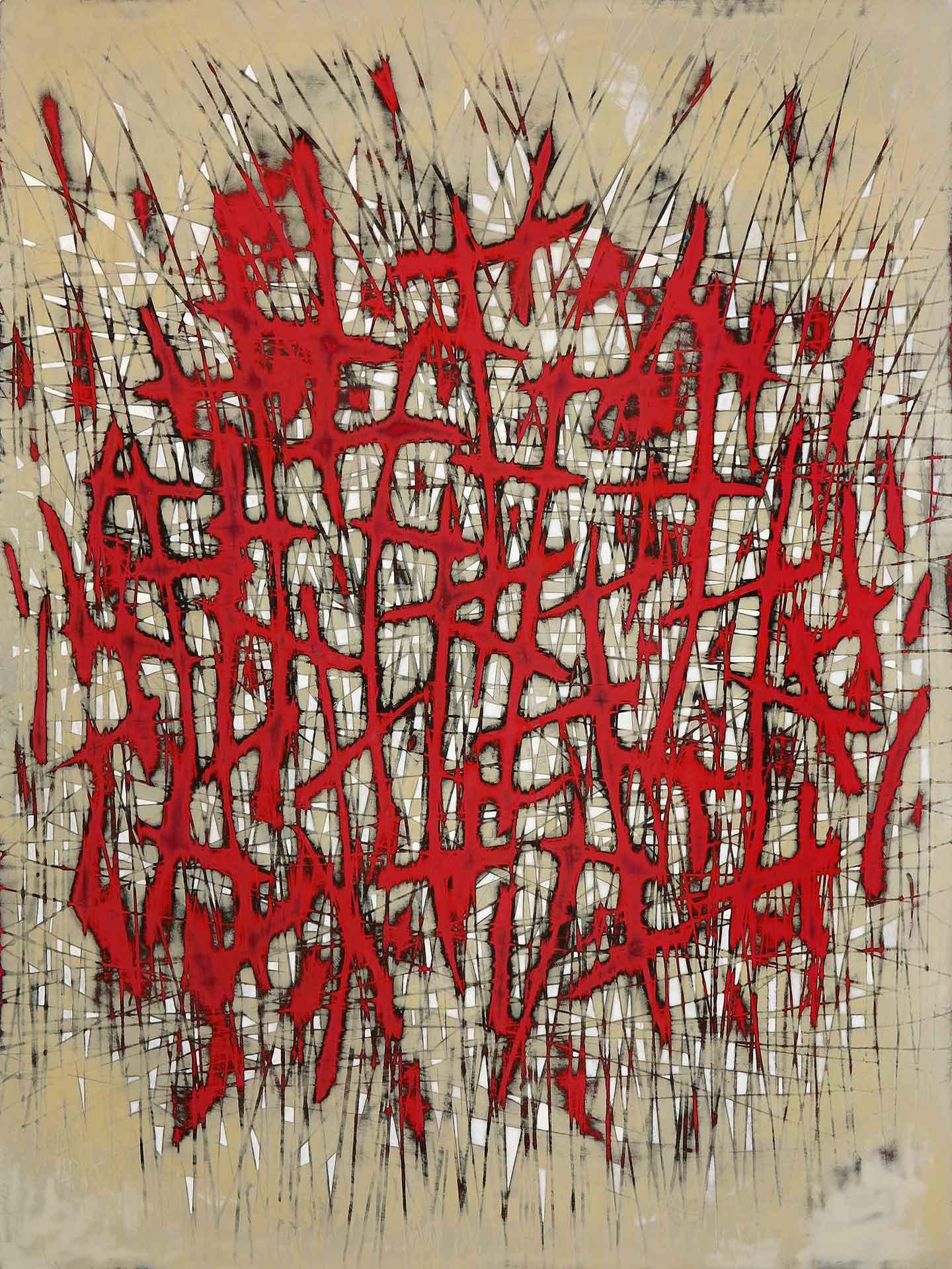 Tuval üzeri akrilik – Acrylic on canvas 65*85 cm