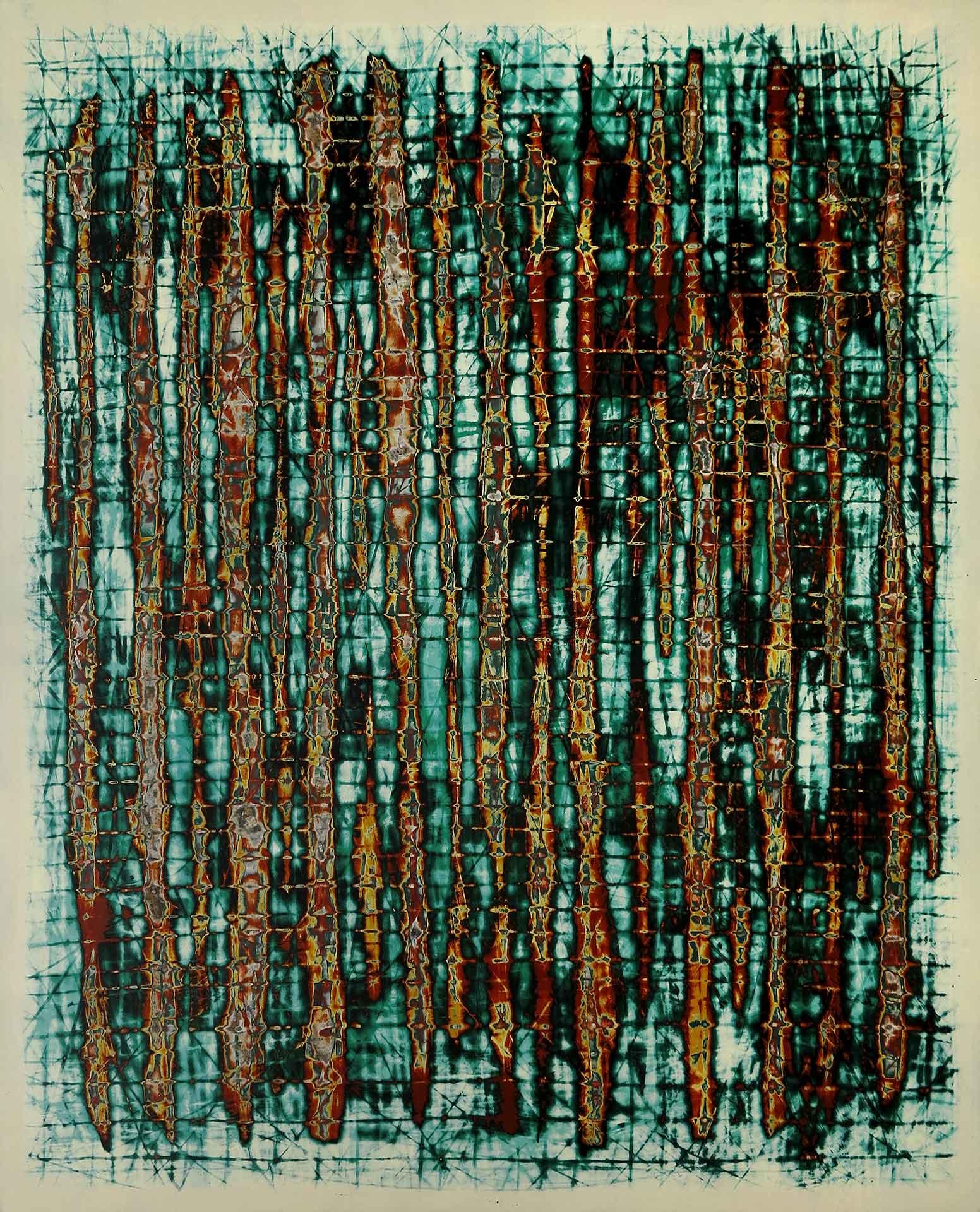 Tuval üzeri akrilik – Acrylic on canvas 90*110 cm