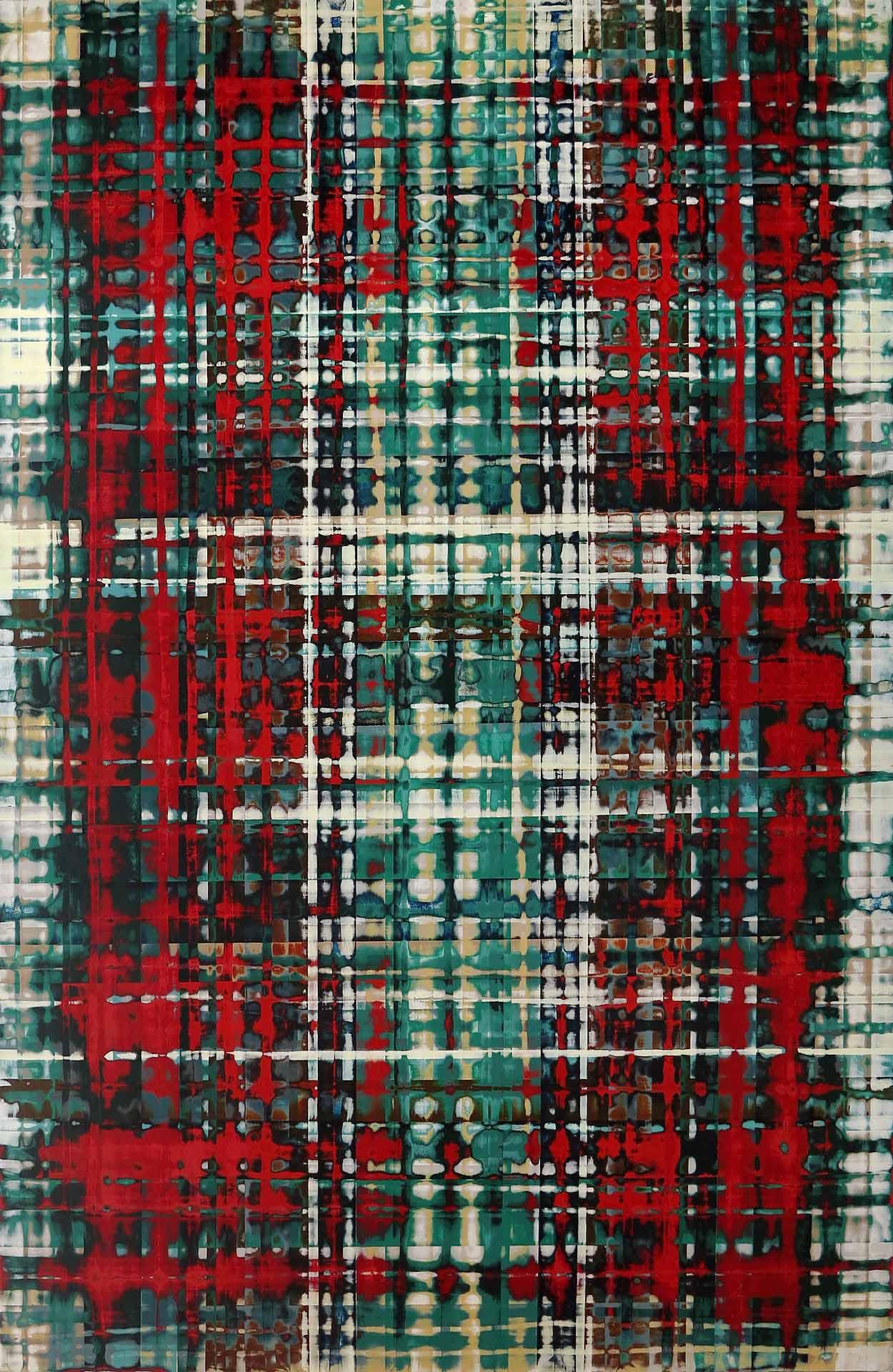 Tuval üzeri akrilik – Acrylic on canvas 90*60 cm